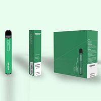 Beedf Plus cigarettes jetables Kit de pod couleur 3ml Prérublée 800 Puff 550mAh Vape Pen Stick Bar Dispositif 100% Origina