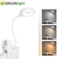 Lâmpada LED Lâmpada de Toque Touch Table Sem Fio Luz Desktop USB Recarregável 1800mAh Bateria Lâmpadas Lâmpadas Leitura Luzes Noturna