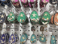2020 New Arrival Declaração Irregular Pedra Natural colares de cristal druzy drusy pingente de quartzo Colar Para colar de jóias mulheres