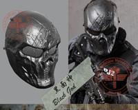 Aryourshop Airsoft Paintball Phone Rosto Capuz Proteção Crânio Capa de Crânio Máscara Ao Ar Livre Tático Equipamento de Equipamento Acessórios Peças