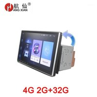 Hang Xian Rotativable Screen 2 Din Automobile per Auto DVD Player Universale GPS Accessori Bluetooth 4G Internet1