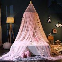 Baldachin Runde Kuppel Moskito Proof Netting Crown Princess Mosquito Net Tür Bett Baldachin Zelt Zimmer Bettdeckel Hängende Bettwäsche Dome Net1
