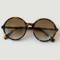 Designer Vendredi 2020 Petit rond avec lunettes de soleil noires Haut de l'acide acétique, et Wayfarer lunettes morceaux d'UV pour femmes