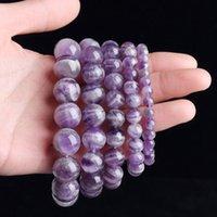 Natürliche halb kostbare Steinperlen Hohe Qualität 6mm / 8mm / 10mm Perle Stein Perlen Armbänder Kristall Edelstein Schmuck in Bulk 313 J2