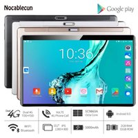 2020 Nuovo tablet PC 10.1 pollici Android 9.0 Google Play 4G Chiamata telefonica Compresse WiFi Bluetooth GPS 2.5D vetro temperato 10 pollici Tablet1