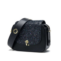 Luxurys designers Haodun new 2021 Leather Shoulder Messenger women's Korean fashion ins net red Bag