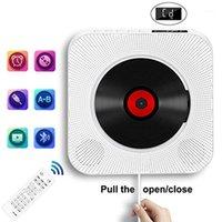 CD-плеер Настенный Bluetooth Portable Home Audio Boombox с удаленным FM-радио встроенный HiFi динамик USB MP31
