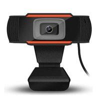 Cameras 720P 480P USB Webcam Webcast Live Broadcast Web Casts Camera Cam Built-in HD Microphone Widescreen Video Features