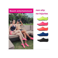Playa Water Sports Scuba Diving Socks 5 Colores Natación Snorkeling AND-Slip Seaside Beach Zapatos Playa transpirable Surf Socks Sand Play