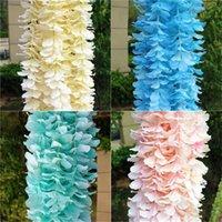 Flores artificiales Cuerdas Decoraciones de la fiesta de bodas Orchid Rattan Inicio Decoración interior Multi Color Strings Fashion 1 8LT G1