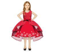 아이들이 볼 가운 여자가 결혼 아동 의류 크리스마스 레드에 대한 특별 행사 졸업 드레스 드레스