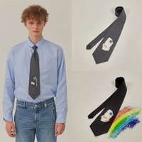 100٪ العلاقات الحرير للرجال الجوف تدمير ربطة عنق للرجال التعادل حفل زفاف دروبشيبينغ