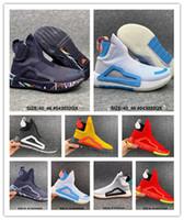 Donovan Mitchell Sneakers di alta classifica da uomo scarpe da basket da uomo originale N3xt L3V3L Zach Lavine Nero Nube Bianco Bianco PRIME MAGLIA SCARPE Dimensioni 40-46