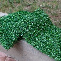 60x40cm Artificial Milão Lawn Lawn Faux Grass Wall Backdrop Decor Arbustos Greenery Painéis Decorativos Cercas para Indoor / Outten