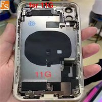 OEM الإسكان ل iPhone 11 الظهر الزجاج الإطار الأوسط الإسكان الكامل مع أجزاء الكابلات المرنة الكامل هيكل البطارية الغطاء الخلفي الجمعية الإسكان الكامل