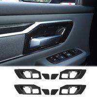 Kohlefaser Tür Innengriff Dekoration Schüssel für Dodge RAM 1500 2018 2019 2020 Auto Inneneinrichtungen