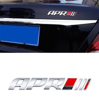 자동차 3D ABS APR 단계 III 로고 스티커 VW POLO PASSAT B7 B8 CC Jetta Tiguan 골프 MK4 MK6 MK7 자동차 트렁크 엠블럼 배지 스티커