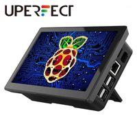 [NUEVA] Pantalla de pantalla táctil de Raspberry PI 7 con Funda - 1024x600 Soporte, Tipo-C, IPS 178 ° Monitor de ángulo de vista ultra ancho con cooli1