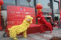 Brinquedo do traje da mascote do leão da criança para o menino Menina Theatre Dias de Natal ao ar livre Desfile Lãs Cinema Chinês Dança Popular Carnaval Costumes 2020