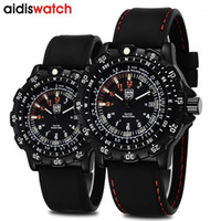 Aidis 2019 Men Silicone Band Guarda Gemius Army Watch Movimento al quarzo di alta qualità Uomo Sport Casual WristWatches1