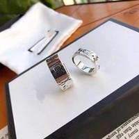 2021 Anello per unghie in acciaio in acciaio in titanio di alta qualità, scheletro, uomini e donne Anello di moda Accessori per usura, inviare amanti