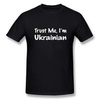 جديد أنا أحب بلدي الساخن الأوكرانية زوجه أوكرانيا تي شيرت الثقة عني أنا الأوكرانية بلايز القطن قصير الأكمام بلايز