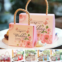 High Class Wedding Favors Gift Boxes 2021 New Arrival Hard C...