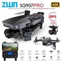 ZWN SG907 PRO / SG901 GPS Дрон с 2 осью Двигатель 4K HD 5G WiFi широкоугольный FPV Оптический поток RC Quadcopter Dron VS SG906 201221