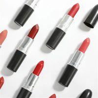 Rouge à Alüminyum Tüp Mat Ruj Cilası Rujlar Rus Kırmızı En Kaliteli Makyaj 2021 Luxurys Tasarımcılar Dudak Parlatıcısı