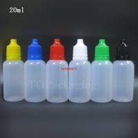 Novo 20ml vazio PE Plástico Extrudável Garrafa de Garrafa Gotas Líquido Dispensador Líquido Loja Pequeno Quadro de Pressão EspremívelBestidade