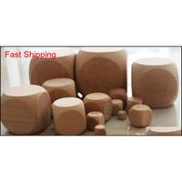 15 мм пустые деревянные кубики DIY деревянные кубики дети безопасности образовательные игрушки питьевые игры кубики настольные игры аксессуары хорошее pr qylqph abc2007