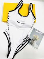이탈리아 수영복 봄 여름 새로운 높은 패션 낙서 편지 인쇄 womens 수영복 탑스 고품질 흰색 09