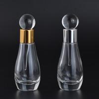 12ml femmes parfum bouteille verre vide Antiqued style Parfums Container décoration de mariage Bouteilles Dropper Portable