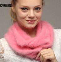 Lovely-Jinnuo feitos sob medida Plush mink cashmere lenço mink cashmere gola costume engrossado Collar Unisex Cachecol JN302 Y201007