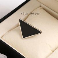 Neue Ankunft Dreieck Brief Haarspange Frauen Mädchen Metall Dreieck Barrettes mit Stempel Mode Haarschmuck