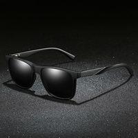 النظارات الشمسية الجديدة الاستقطاب 1951 الرجال النظارات الشمسية TR النظارات الشمسية ألياف ألياف الكربون