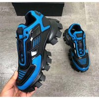 Cloudbust الرعد حك أحذية رياضية رجالي فاخر مصمم أحذية عارضة أحذية الرجال عارضة الكلاسيكية النسيج المطاط المدربين في الهواء الطلق B111