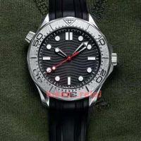 Erkek Erkek Seramik Çerçeve Kendini Rüzgar İzle Saatler Nektons Edition Otomatik Hareketi Mekanik Orologio James Bond 007 Montre De Luxe Stil Skyfall 300m Saatı
