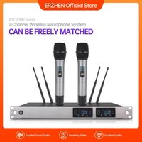 New High Quality Professional Dual Wireless Microphone Syste...