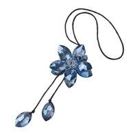 Décoration de voiture ornements fleur de cristal suspendu ornement ornement automatique arrière-miroir accessoires accessoires décoration ornements1