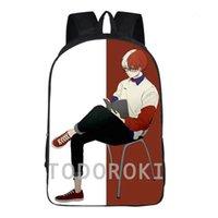 TODOROKI SHOTOS Mochila My Hero Academia Day Pack Ocio School Bag Casual Packsack Imprimir Rucksack Deporte Schoolbag Outdoor Daypack