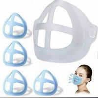 3D الوجه قناع الدعم الداخلي إطار قناع قوس التنفس مريحة قابل للغسل قابلة لإعادة الاستخدام أقنعة واضحة أداة الملحقات LJJP734