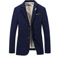 2021 Yeni Stil Moda Erkekler Rahat Blazer erkek Pamuk Takım Elbise Ceket Erkek Klasik Blazer Erkek S-4XL Için