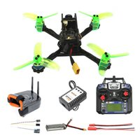 Drones RTF FPV Yarış Drone 135mm Mini F3 OSD 2 S RC Quadcopter 10A 7500 KV Fırçasız 2.4g 6ch BNF Combo Set 1200TVL HD Kamera