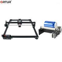 Impressoras Grupo Produtos Ortur CNC Roller Rotation Axis Anexo Rotary Gire Gravação com Mestre Laser de Alta Velocidade 2 7W / 15W / 20W1