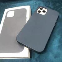 Gerçek Deri MagSafe iPhone Kılıfı ve Arka Kapak Için IP12 Mini Pro Max Perakende Kutusu ile