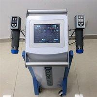 Doppelte akustische Shockwave-Therapie-Machie für erektile Dysfunktion ed Behandlungen Körperliche Stoßwelle Tliedmaschine für Pflanzerfasziitis