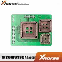 Xhorse TMS370 (PLCC28 \ PLCC44 \ PLCC68) XDPG16EN Adaptörü VVDI Prog1 ile Çalışıyor