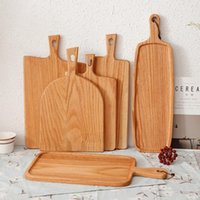 Squre Kitchen Chopping Block Wood Home Cutting Board Cake Su...