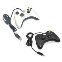 Contrôleurs de jeu Joysticks Wired PC 360 GamePad Contrôleur USB pour le joystick non compatible Xbox uniquement